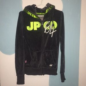 Joshua Perets zip-up hoodie small